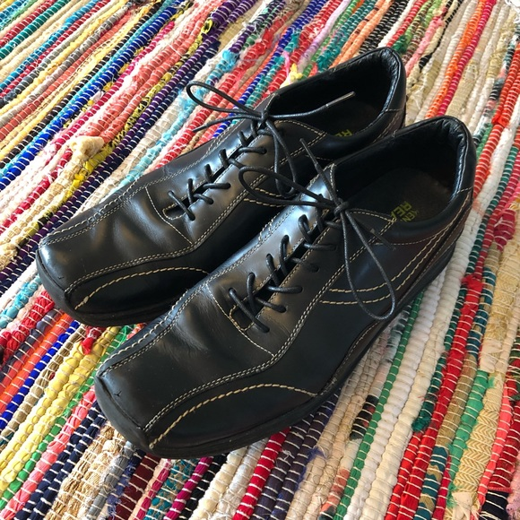Kenneth Cole Other - Kenneth Cole Leather Dress Sneaker Shoe Black 10.5